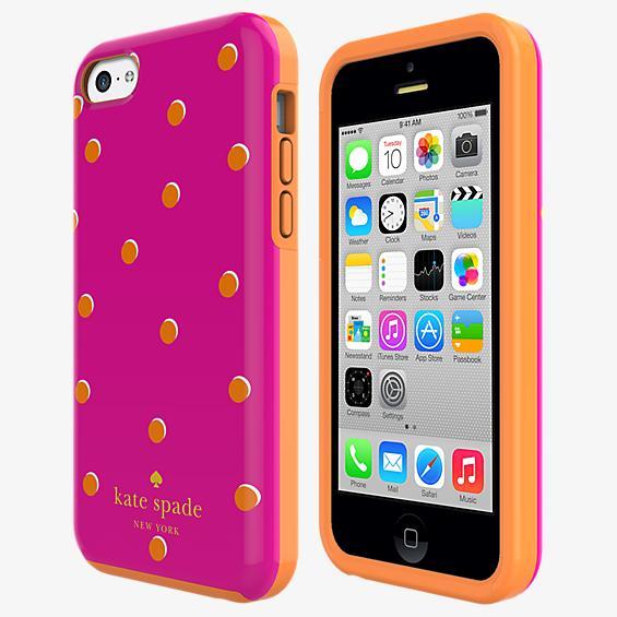 Flexible Hardshell Case for iPhone 5c - Scatter Pavilion