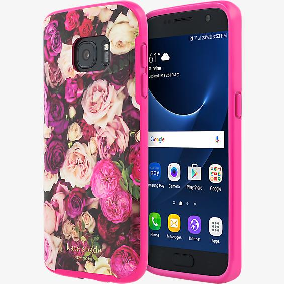 Flexible Hardshell Case for Galaxy S7 - Photographic Roses