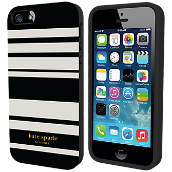 Flexible Hardshell Case for iPhone 5/5s - Fairmont Stripe
