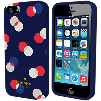 Flexible Hardshell Case for iPhone 5/5s - Trapping Dots