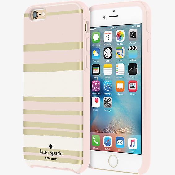 Hybrid Hardshell Case for iPhone 6/6s - Capri Stripe