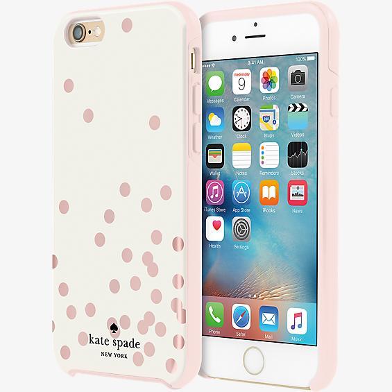 Hybrid Hardshell Case for iPhone 6/6s - Confetti Dot