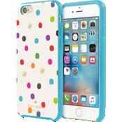 Hybrid Hardshell Case for iPhone 6/6s - Ikat Dot