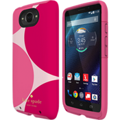 Dual Layer Case for Droid Turbo - Oversized dots