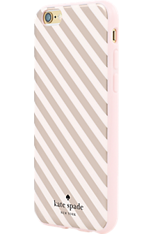 innovative design 77bfd 58add Flexible Hardshell Case for iPhone 6/6s - Rose Gold Diagonal Stripe