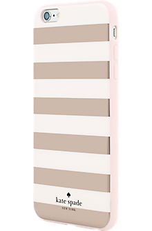 sports shoes 5b197 6db73 Flexible Hardshell Case for iPhone 6 Plus/6s Plus - Candy Stripe Rose Gold