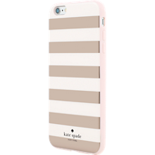 Flexible Hardshell Case for iPhone 6 Plus/6s Plus - Rose Gold Candy Stripe