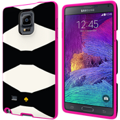 Flexible Hardshell Case for Samsung GALAXY Note 4 - Oversized Bow