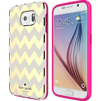 Flexible Hardshell Case for Samsung Galaxy S 6 - Chevron