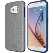 Flexible Hardshell Case for Samsung Galaxy S 6 - Glitter