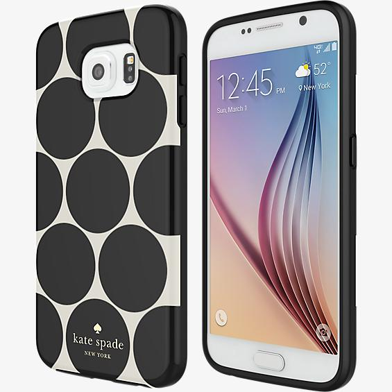 Flexible Hardshell Case for Samsung Galaxy S 6 - Larabee Dot