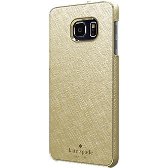 Wrap Case for Samsung Galaxy S 6 edge+ - Gold