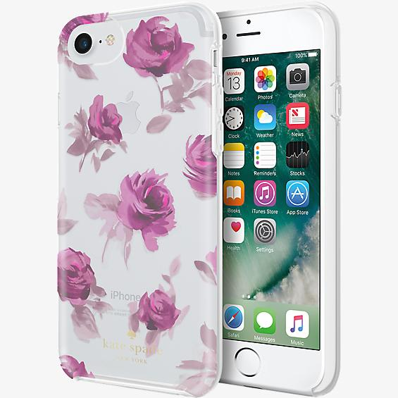 Protective Hardshell Case for iPhone 7 - Rose Symphony