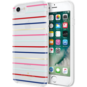 Protective Hardshell Case for iPhone 7 - Surprise Stripe Gold/Multi