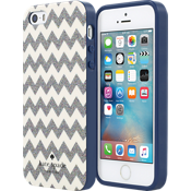 Flexible Hardshell for iPhone SE - Chevron Multi Glitter/ Cream