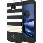Flexible Hardshell Case for Moto Z Force Droid - Stripe