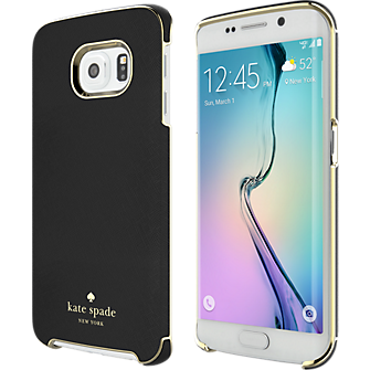 Wrap Case for Samsung Galaxy S 6 Edge - Black