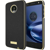 Wrap Case for Moto Z Force Droid - Saffiano Black