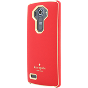 Wrap Case for LG G4 Red/Gold