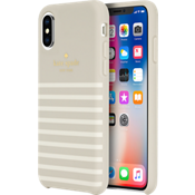 Protective Hardshell Soft Touch Case for iPhone XS/X - White