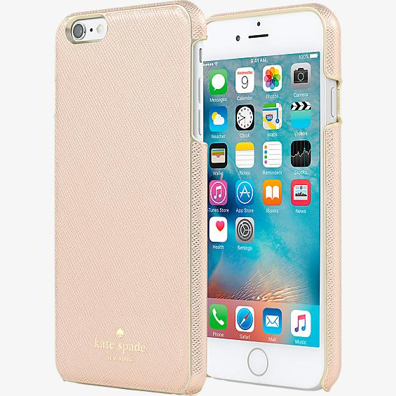 Wrap Case for iPhone 6 Plus/6s Plus - Saffiano Rose Gold