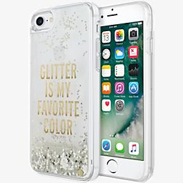 Clear Liquid Glitter Case for iPhone 7