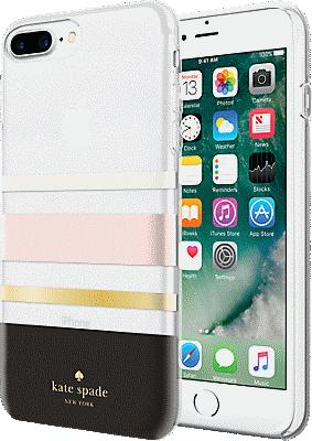 huge selection of b8d0e 34601 Flexible Hardshell Case for iPhone 8 Plus - Charlotte Stripe