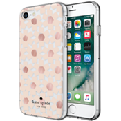 Flexible Hardshell Case for iPhone 7 - Floral Clear