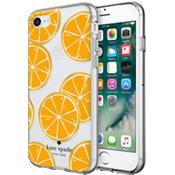 Flexible Hardshell Case for iPhone 7 - Orange