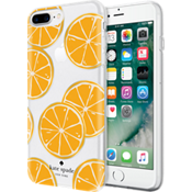 Flexible Hardshell Case for iPhone 7 Plus - Orange