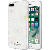 Flexible Hardshell Case for iPhone 8 Plus/7 Plus/6s Plus/6 Plus - Hollyhock Floral