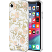 Protective Hardshell Case for iPhone XR - Blossom Pink/Gold Foil/Gems