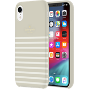Protective Hardshell Case for iPhone XR - Clocktower/Cream/Gold Logo