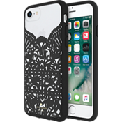 Lace Cage Case for iPhone 8/7/6s/6 - Lace Hummingbird Black/Clear