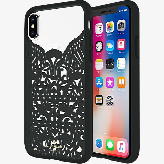 Lace Cage Case for iPhone X