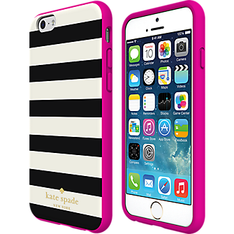Flexible Hardshell Case for iPhone 6/6s - Candy Stripe