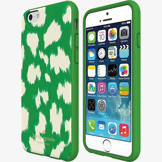 Flexible Hardshell Case for iPhone 6/6s - eKat Leopard