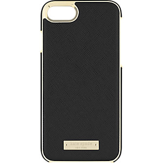 Kate Spade New York Wrap Case For IPhone 8 7 Saffiano Black