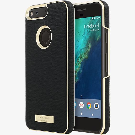 Wrap Case for Pixel- Saffiano Black