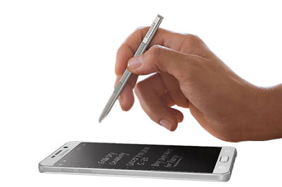 Write precisely with the enhanced S Pen