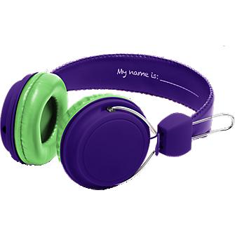 Girls DIY Headphones - Purple