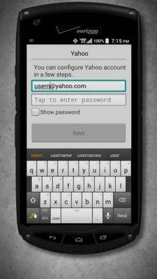 Configuración de email - Brigadier™ de Kyocera