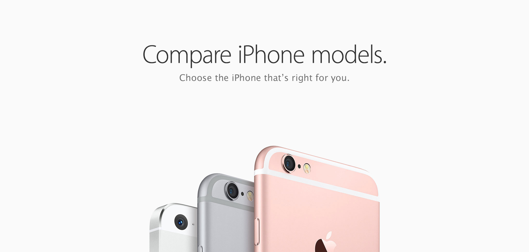 Compare iPhone models. Choose the iPhone that's right for you.
