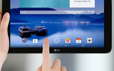 Browsing the Web With Your LG G Pad™ 10.1 LTE