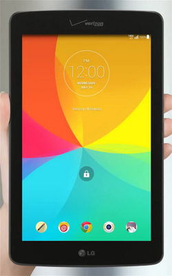 LG G Pad™ 7.0 LTE First Time Use