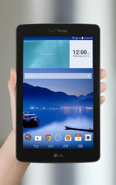 LG G Pad 7 0 LTE Smart Share