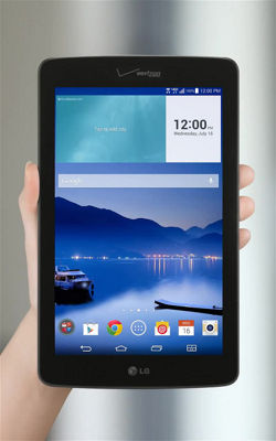 Browsing the Web With Your LG G Pad™ 7.0 LTE
