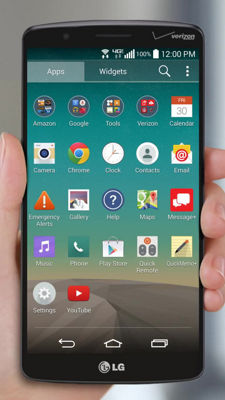 Using Global on Your LG G Vista