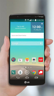 Using Gestures on Your LG G3