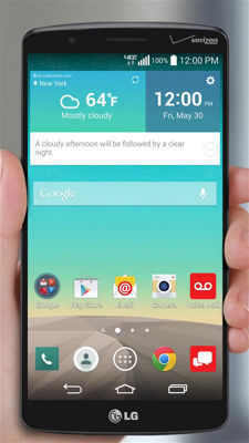 Using the Smart Notice Widget on Your LG G3